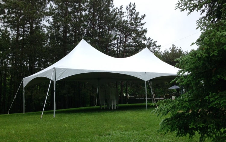 20 x 40 Matrix Marquee with side walls/windows