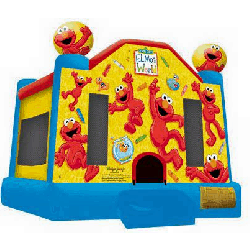 Elmo Pre-schooler Bouncer