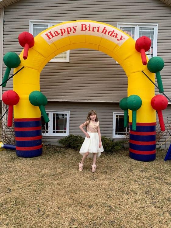 Birthday Arch
