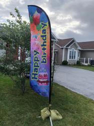Birthday Flag - add on