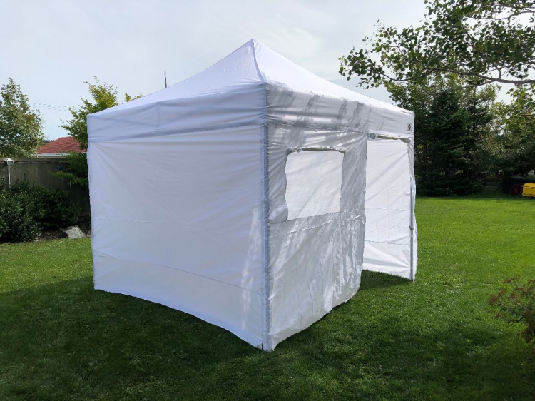 10 x 10 Market Canopy - White with all sides
