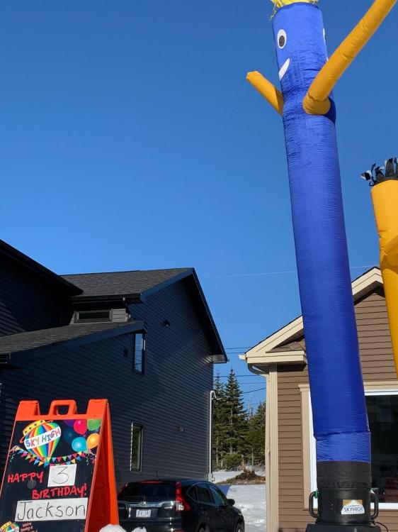 10 ft Blue Sky Dancer sleeve