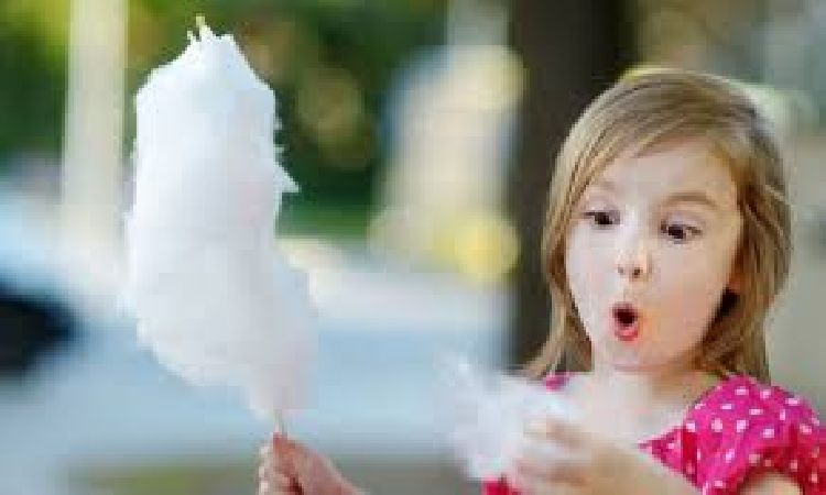 cotton candy party with 100 servings