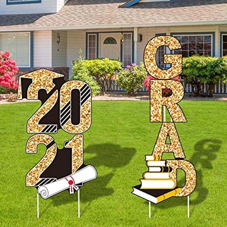 Grad Yard Display