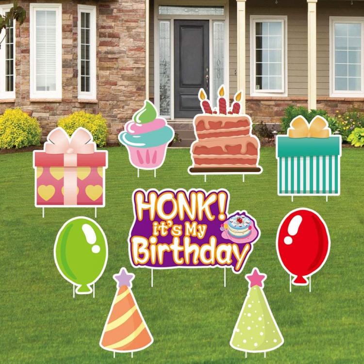 Honk its my Birthday Yard card  - $25 add on